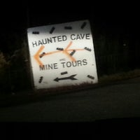 Photo taken at Lewisburg Haunted Cave by Mark I. on 10/26/2014