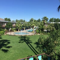 Photo taken at Hotel Valley Ho Pool by Bob M. on 10/10/2016