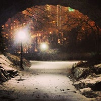 Photo taken at Inscope Arch Central Park by Bob M. on 1/26/2013