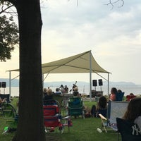 Photo taken at Dobbs Ferry Waterfront Park by Bob M. on 7/12/2017