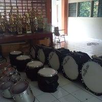 Photo taken at Gita Teladan Drum & Brass Corps by Ei'end H. on 11/10/2012