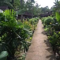 Photo taken at Mook Lanta Eco Resort by Ashley C. on 7/17/2016