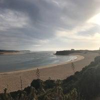 Photo taken at Praia de Vila Nova de Milfontes by Melanie L. on 10/17/2017