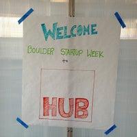 Photo taken at Impact Hub Boulder by Michael S. on 5/16/2013