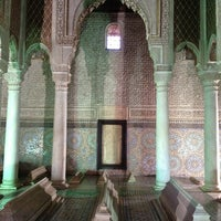 Photo taken at Saadian Tombs by Norbert on 3/24/2013