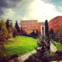 Photo taken at Yeditepe University by Mert A. on 11/4/2012