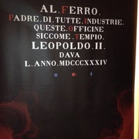 Photo taken at MAGMA  Museo delle Arti in Ghisa nella MAremma by Maremma T. on 11/15/2014