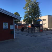 Photo taken at Valhall barnehage by Asbjørn U. on 8/17/2016