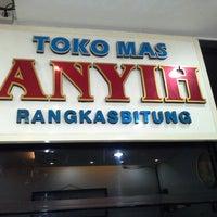 Photo taken at TOKO MAS ANYIH by Alvien S. on 1/2/2013