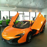 Photo taken at McLaren Auto Gallery Beverly Hills by Venus B. on 10/14/2015