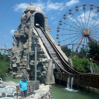 Photo taken at Allou Fun Park by Κωστής Θ. on 7/14/2013