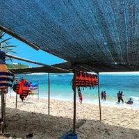 Photo taken at Pantai Sadranan by Bas A. on 3/26/2016