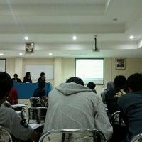 Photo taken at Fakultas Perikanan dan Ilmu Kelautan by Fikrur R. on 5/22/2014