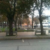 Photo taken at Plaza de Armas Talcahuano by Cristian C. on 4/26/2013