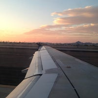 Photo taken at Phoenix Sky Harbor International Airport (PHX) by Misty T. on 8/10/2013