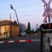 Photo taken at Rákosrendező vasútállomás by Gabor J. on 4/25/2013