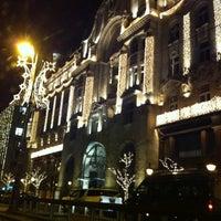 Photo taken at Four Seasons Hotel Gresham Palace Budapest by Gabor J. on 12/9/2013