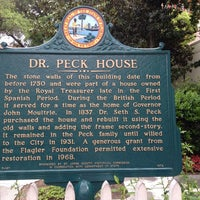 Photo taken at Dr. Peck House by Jill N. on 4/30/2014