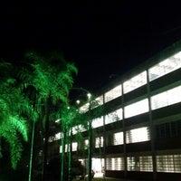 Photo taken at Universidade São Francisco by Luis Claudio B. on 2/4/2014