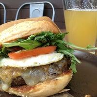 Photo taken at Roam Artisan Burgers by Taci O. on 3/30/2013