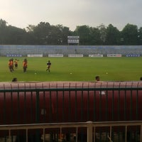 Photo taken at Stadion Wijayakusuma Cilacap by putri i. on 5/24/2014