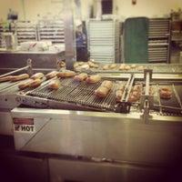 Photo taken at Krispy Kreme Doughnuts by Franchesca P. on 12/16/2012
