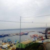 Photo taken at Rumeli Feneri Balıkçısı by . on 4/14/2016