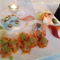 Photo taken at Jaiyen Sushi and Noodle by Dominique T. on 7/20/2013