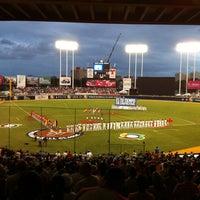 Photo taken at Estadio Hiram Bithorn by Juan C. on 3/8/2013