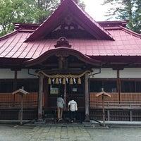 Photo taken at 八王子神社 by ashizin on 9/2/2014