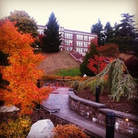 Photo taken at Old Main: Saint Martin's University by Carl L. on 10/26/2012