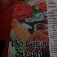 Photo taken at Boteco Sushi by Keniston P. on 2/3/2013