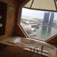 Photo taken at The Ritz-Carlton Millenia Singapore by Naomi H. on 5/24/2013