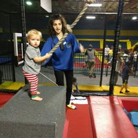 Photo taken at Sky High Sports by Sarah F. on 4/11/2016