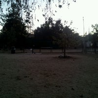 Photo taken at Hermon Dog Park by JO H. on 11/19/2012