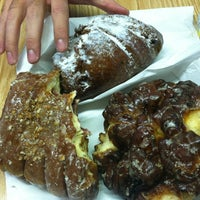 Photo taken at Donut House by Shelby G. on 10/21/2012