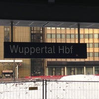 Photo taken at Wuppertal Hauptbahnhof by Jan P. on 12/12/2012