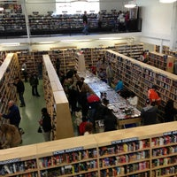 Photo taken at McKay Used Books, CDs, Movies & More by Nancy G. on 2/9/2013