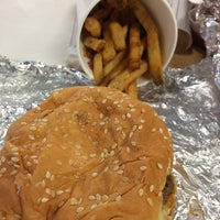 Photo taken at Five Guys by Nancy G. on 11/27/2013