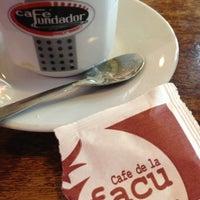 Photo taken at Café de la Facu by Gonzalo O. on 11/9/2012