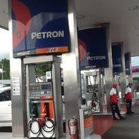 Photo taken at Petron Service Station by Rej L. on 9/28/2012