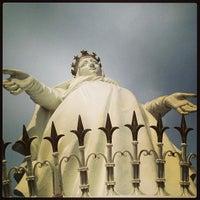 Photo taken at Notre Dame du Liban Harissa by Kerem Y. on 3/30/2013
