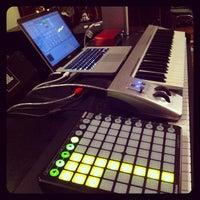 Photo taken at Black studio by Iman F. on 9/28/2013