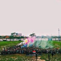 Photo taken at Stadion Persib by Aswin U. on 3/22/2015