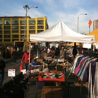Photo taken at Hell's Kitchen Flea Market by Steve R. on 12/15/2012