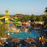 Photo taken at La Marina Camping & Resort by Adrián V. on 8/7/2014