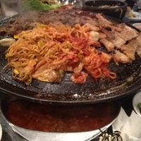 Photo taken at Honey Pig Gooldaegee Korean Grill by eurekah on 4/17/2013