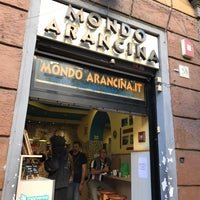 Photo taken at Mondo Arancina by Fernanda N. on 4/16/2017