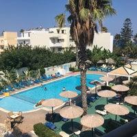 Photo taken at Kos Hotel Junior Suites by Osman C. on 9/15/2016