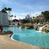 Photo taken at Disney's Yacht Club Resort by Manny O. on 2/3/2013